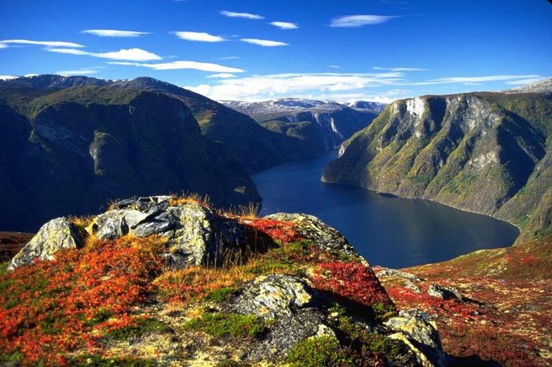 Aurlandsfjord fjord Norway