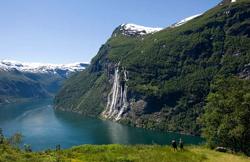 Naeroyfjord and Aurlandsfjord