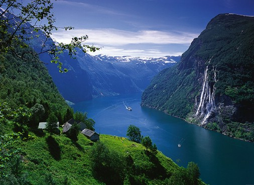 The Geirangerfjord Norway