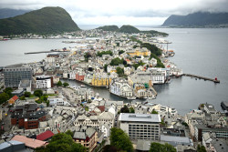 Alesund Aksla viewpoint