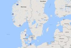 Costa Cruises, Norwegian Fjords Cruise from Copenhagen, 1 Jul 2017 route