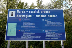 Kirkenes, Norwegian-Russian border