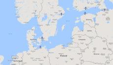 Princess Cruises, Scandinavia & Russia cruise from Copenhagen, 30 Jul 2017 route