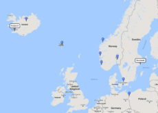 Regent Seven Seas Cruises, Idyllic fjords cruise from Reykjavik to Stockholm, 1 Sep 2017 route
