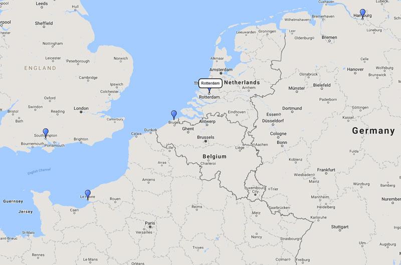 Aida Cruises Northern Europe Cruise From Rotterdam 26