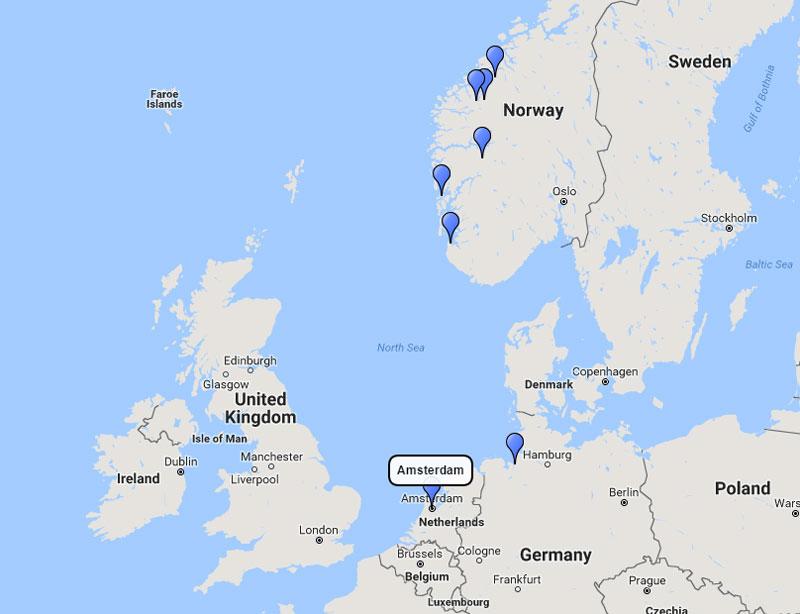 costa cruises norwegian fjords cruise from amsterdam 21