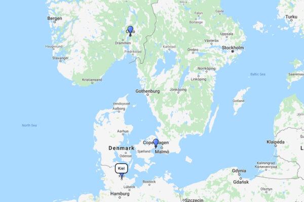 AIDA Cruises, Norway & Denmark Cruise from Kiel