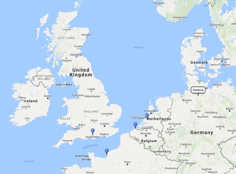 Aida Cruises Northern Europe Cruise From Hamburg 21