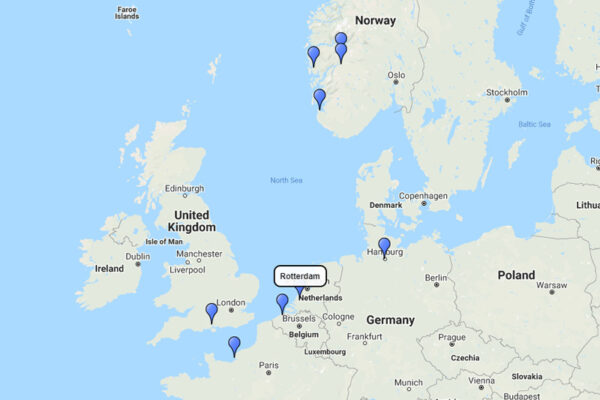 14-day Norwegian Fjords and Northern Europe Cities cruise with AIDA Cruises
