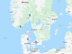 AIDA Cruises to Kristiansand, Oslo, Arhus & Copenhagen
