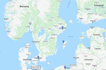 AIDA Cruises to Stockholm, Visby, Gdansk & Copenhagen