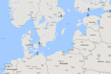 12-day Scandinavia & Russia cruise from Amsterdamon board Celebrity Eclipse route