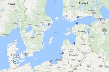 Costa Cruises, Scandinavia & Baltic Sea Cruise from Kiel 11d route