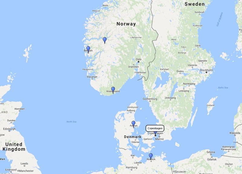 Costa Cruises Norwegian Fjords Cruise From Copenhagen 16 June 2018