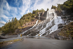 Furebergfossen Waterfall