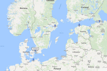 7-Day Scandinavia & Baltic Sea cruise from Copenhagen on board MSC Orchestra route