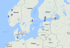 MSC Cruises, Baltic, Scandinavia and Norway from Copenhagen 14d route