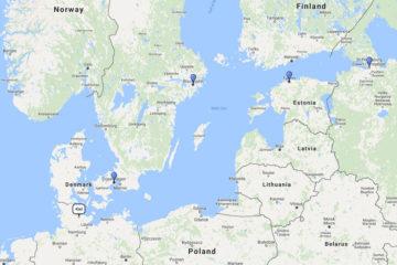 7-Day Scandinavia & Baltic cruise from Kiel on board MSC Preziosa route