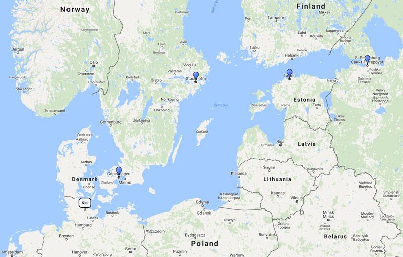 MSC Cruises Scandinavia Baltic Cruise From Kiel June - Baltic cruise