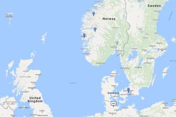 7-Day Norwegian Fjords cruise from Kiel on board MSC Preziosa route