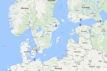 9-Day Scandinavia & Russia cruise from Copenhagen on board Norwegian Breakaway route