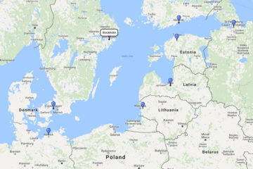 Oceania Cruises, Scandinavian Treasures from Stockholm 10d route