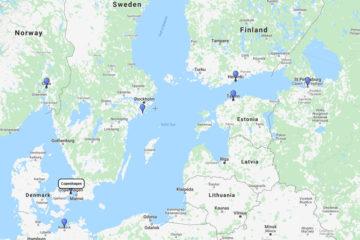 11-Day Scandinavia & Baltic from Copenhagen with Princess